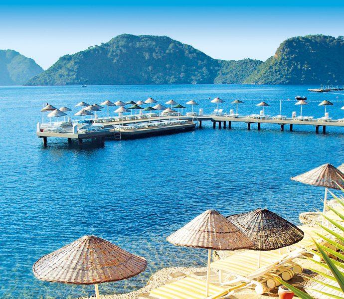 Самое красивое побережье Турции