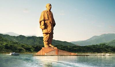 В Индии официально открыли самую высокую статую в мире