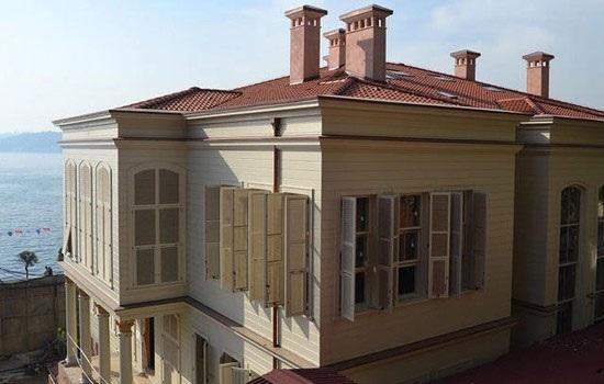 Отреставрированный особняк в Стамбуле станет роскошным отелем