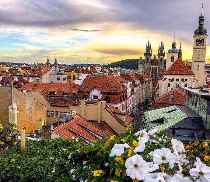Приятный уикенд в Праге.