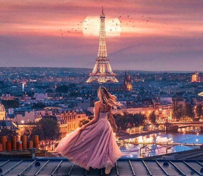 Французское настроение в Париже!