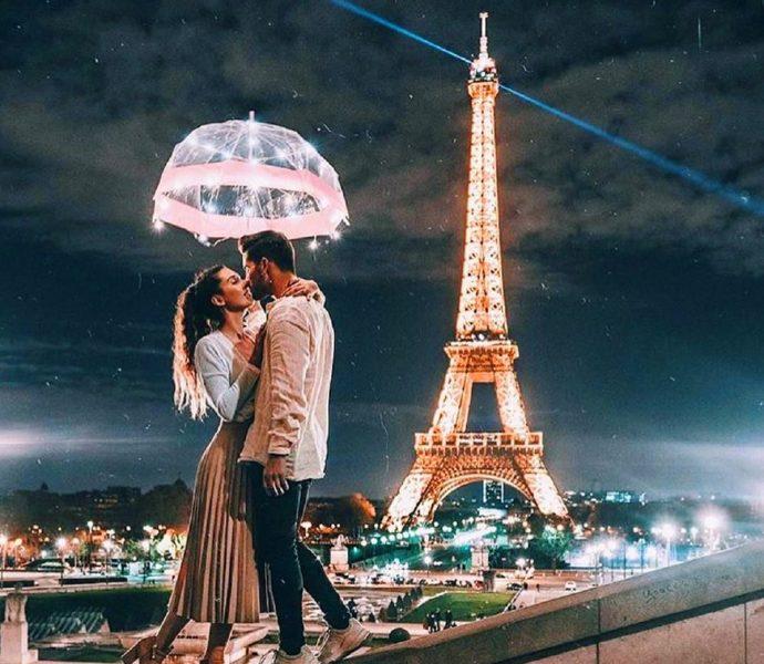Французский поцелуй или Уикенд в Париже!!!