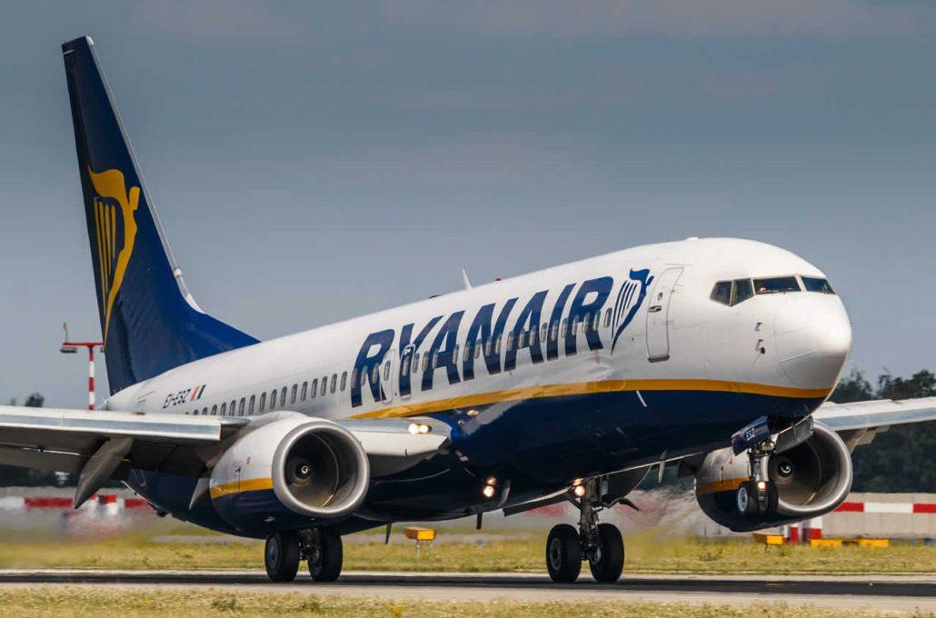 Ryanair запустил продажу билетов на осенние рейсы в Мадрид