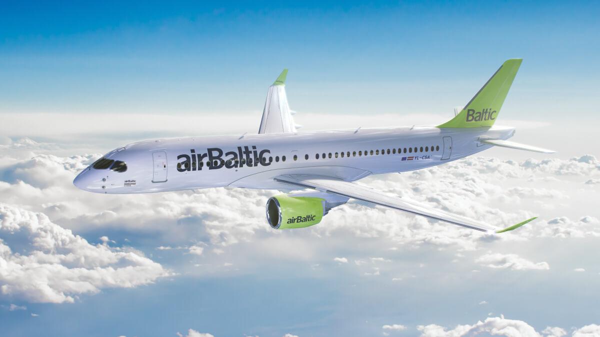 AirBaltic будет выполнять рейсы Львов – Рига до конца октября