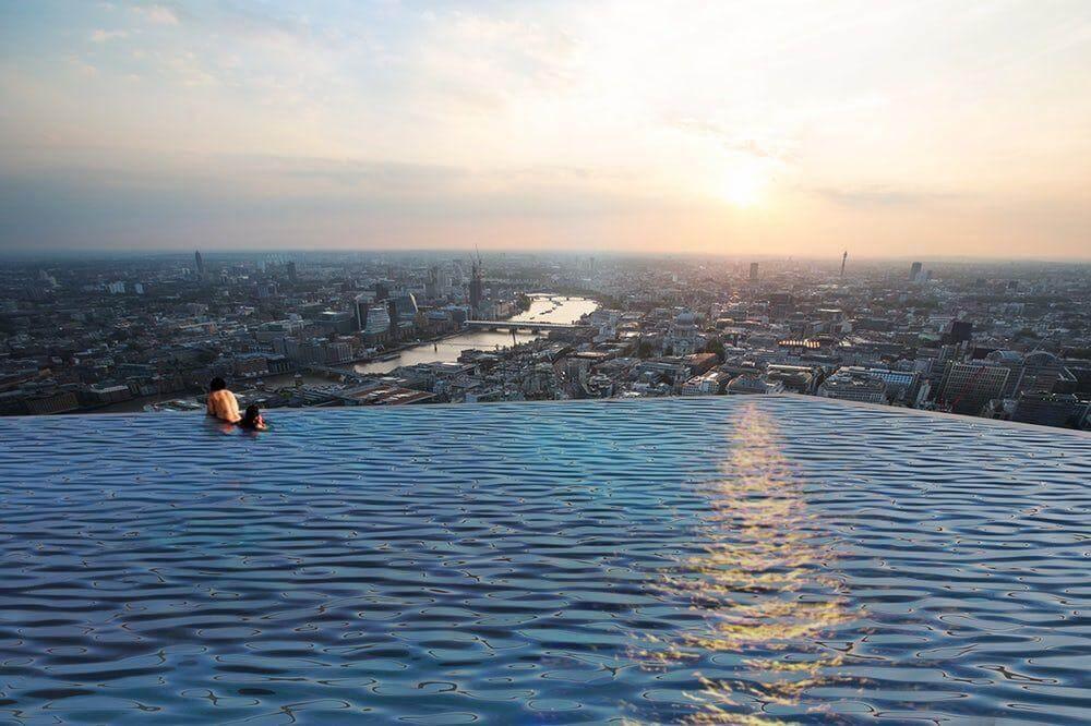 На небоскребе Лондона построят бассейн с панорамным обзором